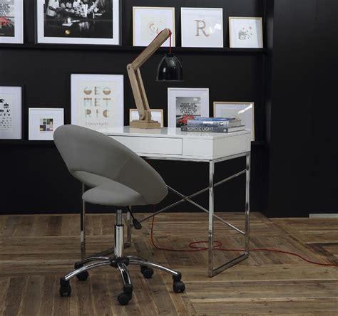chaises de bureau design chaise de bureau design grise à pinto miliboo