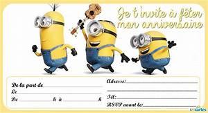 Carte Anniversaire Pour Enfant : les petits rois cartes d 39 anniversaire gratuites les minions ~ Melissatoandfro.com Idées de Décoration