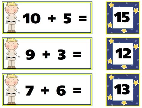 kindergarten math addition    clipartmag