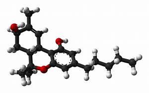 delta-9-tetrahydrocannabinol molecule