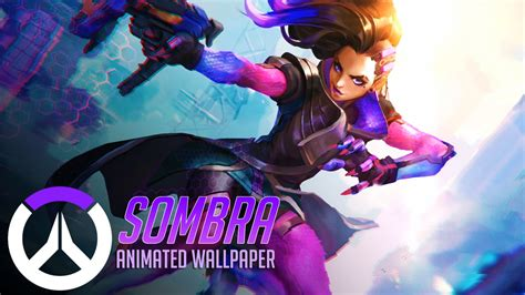 Animated Overwatch Wallpaper - sombra animated wallpaper overwatch by cjxander on