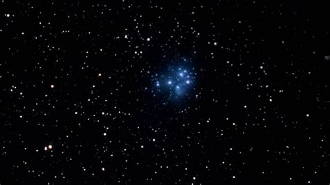 The Pleiades Star Cluster Youtube