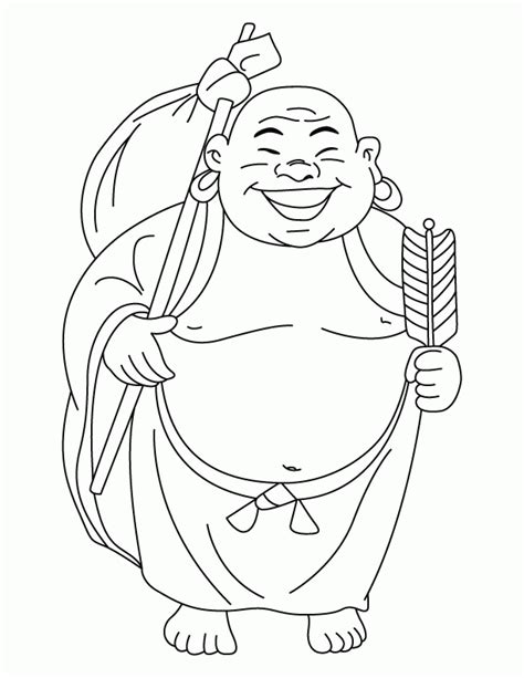 Boedha Kleurplaat by Buddha Coloring Pages Coloring Home