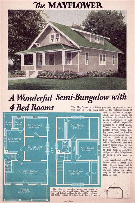 bungalow  liberty homes lewis mfg bay city