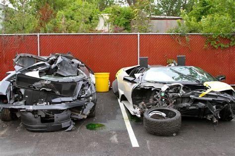 crashed white lamborghini lamborghini crash www pixshark com images galleries