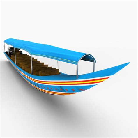 Rocket Boat by Thai Rocket Boat 3d Model Cgstudio