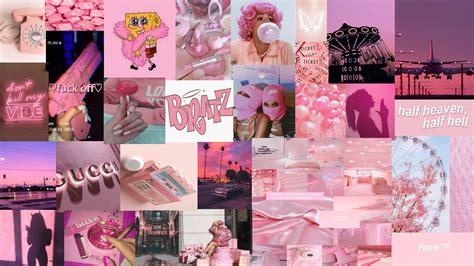 pink aesthetic pink wallpaper laptop laptop