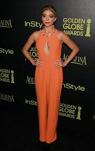 Sarah Hyland HFPA and InStyles Celebration of the 2015 ...