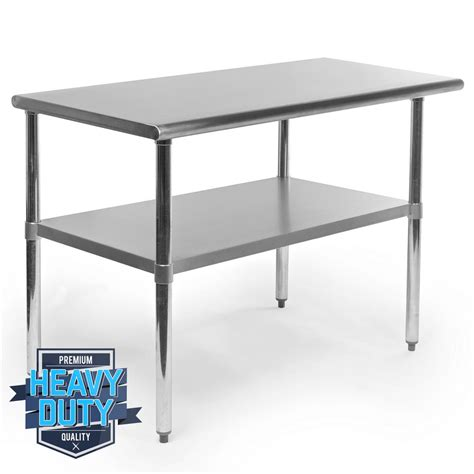 used kitchen island stainless steel commercial kitchen work food prep table