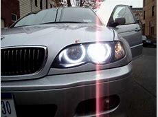 BMW E46 6000k Xenon Bulb Start Up and Orion V2 Angel Eyes