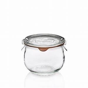 Pot Verre Couvercle : formidables bocaux en verre avec couvercle weck ~ Teatrodelosmanantiales.com Idées de Décoration