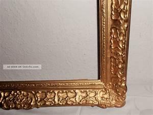 Große Spiegel Mit Rahmen : gro e 70x52 cm antiker holz gold prunk rahmen ~ Michelbontemps.com Haus und Dekorationen