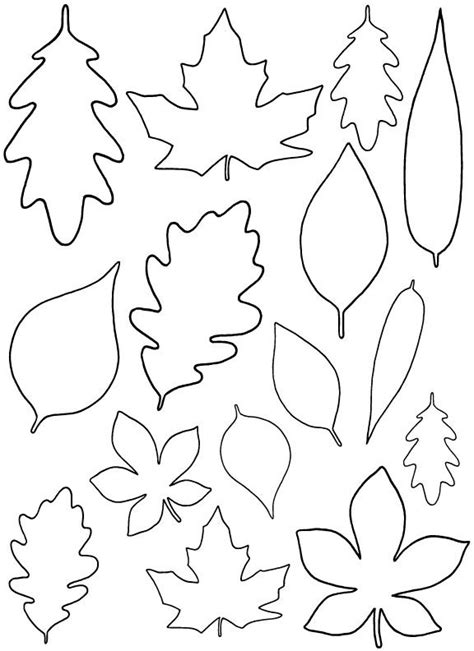 Fall Leaf Template Best 25 Leaf Template Ideas On Fall Leaf
