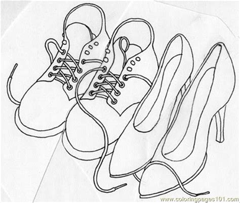 Coloring Shoes by Shoes Crop Coloring Page Free Shoes Coloring Pages