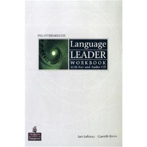 Language Leader Preintermediate Workbook With Key And Audio Cd Pack