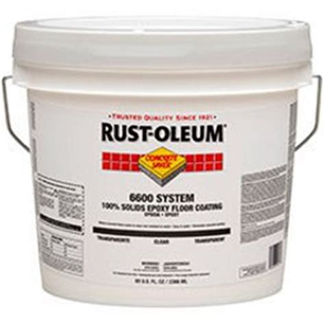 100 Solids Epoxy Floor Coating Kit by 6600 System 100 Solids Epoxy Floor Coating Image
