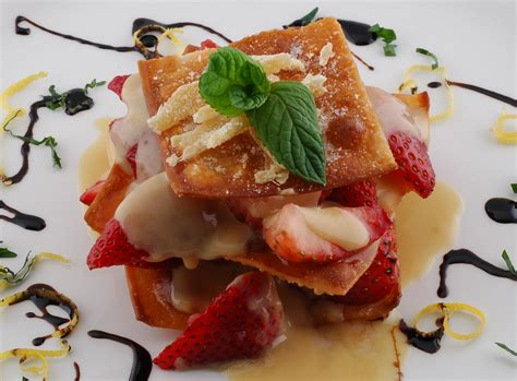 eco cuisine eco cuisine strawberry napoleon