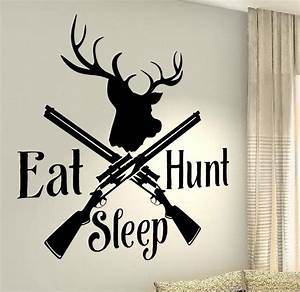 Wall decal best hunting decals for walls hunting decals for Hunting wall decals