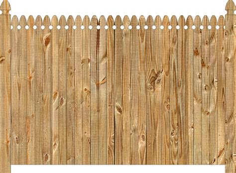 Solid Wood Privacy Fence