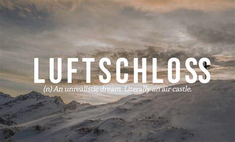 perfect german words    english