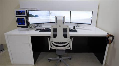 linnmon corner desk setup setup wars episode 24