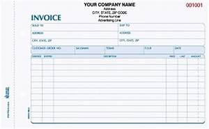 invcc 760 2 part invoice With 2 part invoices