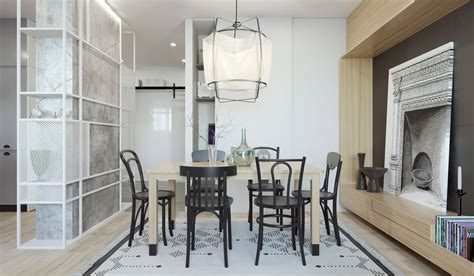 2 Apartments Under 30 Square Metre – One Light, One Dark : 2 One-bedroom Home Apartment Designs Under 60 Square
