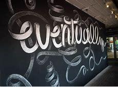 "Chalk Art – One Night Show – ""A little reminder"