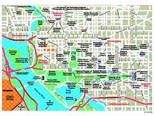 Washington Dc Metro Tourist Map