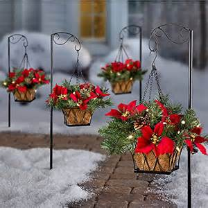 best pre lit hanging baskets with led lights indoor or outdoor use