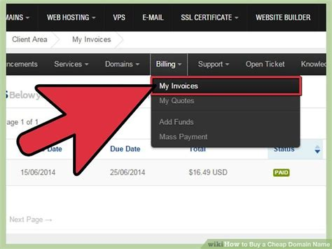 Choose and register your desired domain name: 3 Ways to Buy a Cheap Domain Name - wikiHow