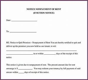 sample eviction notice template business With sample eviction letter texas