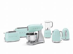 Smeg Küchenmaschine Zubehör : smeg blf01pgeu standmixer pastelgr n ~ Frokenaadalensverden.com Haus und Dekorationen