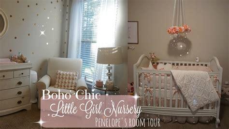 Baby's Room Tour// Babygirl Nursery // Boho-chic Decor
