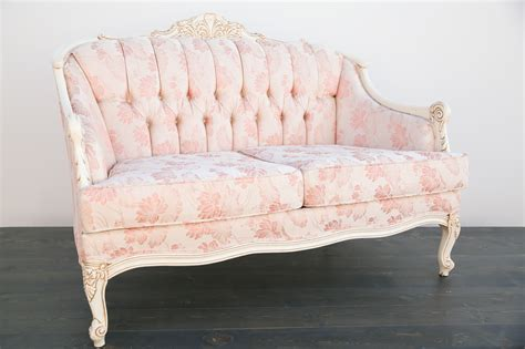 pink settee blush pink settee out of the dust rentals