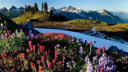 Desktop Mountain Fall Mountains Spring