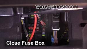 Interior Fuse Box Location  2010