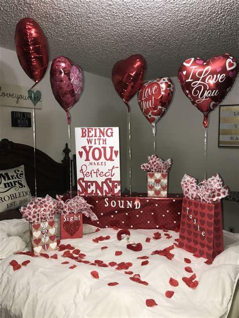 valentines day surprise    senses valentines