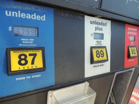 tanken  den usa benzinsorten ablauf bezahlung
