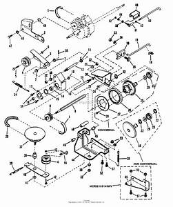 Snapper Mrp216015b 21 U0026quot  6 Hp Steel Deck  U0026quot M U0026quot  Series 15 Parts Diagram For Drive System Self