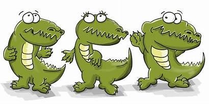 Cocodrilo Crocodiles Cocodrilos Buaya Animados Animado Dibujos