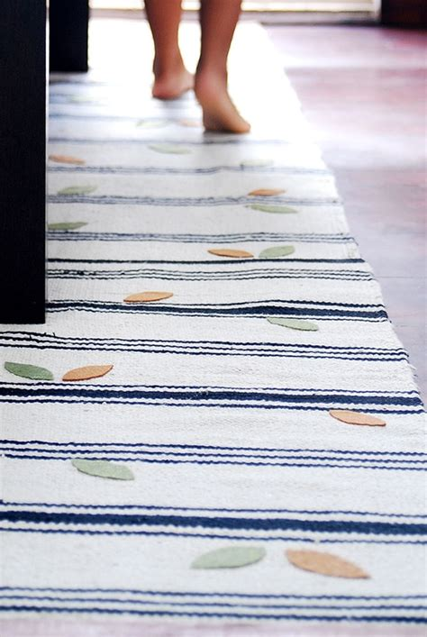 Rugs Runners Ikea by Make Some Cheap Ikea Rugs Into A Runner