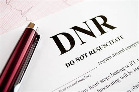 dnr form az the dnr form what is the role of a do not resuscitate