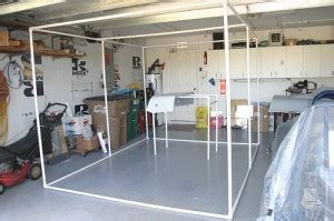 plastic drop cloth for how to build a diy hvlp spray booth for 125