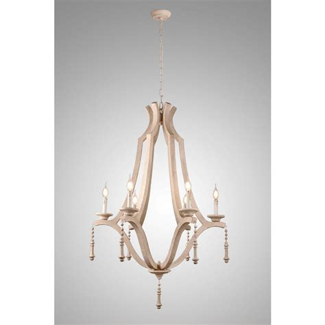 wood chandelier y decor musella 6 light brown wood chandelier with wood