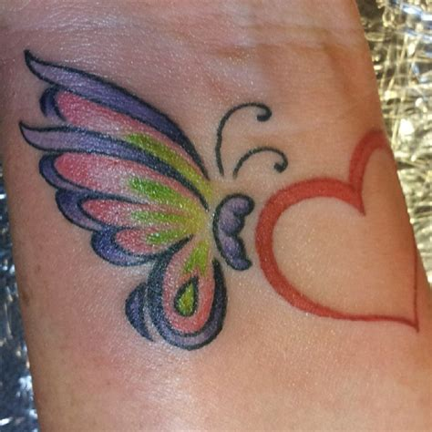 fantastic butterflies wrist tattoos design