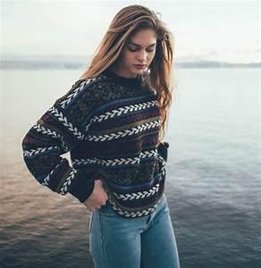 Sweater: aztec, knitwear, brandy melville, tumblr, vintage ...