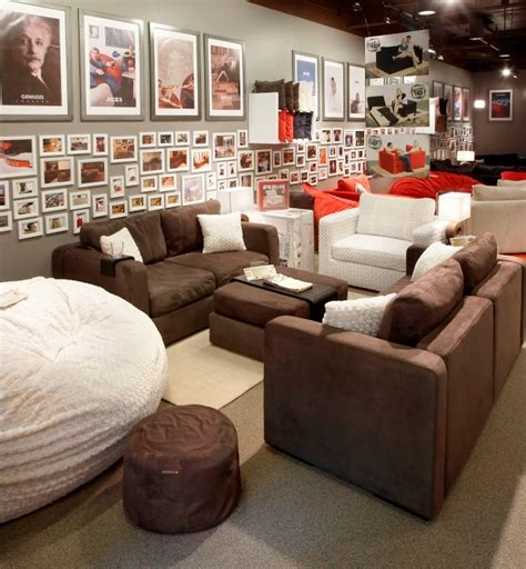 Lovesac Chairs by Media Room Furniture Lovesac Flatiron Crossing