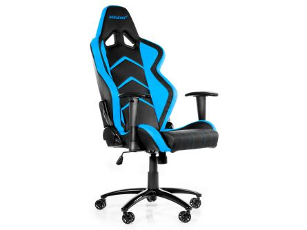 siege bureau gamer akracing player fauteuil gamer chair noir bleu siège