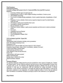 resume with experience model sle resume format for experienced 2 career interiors